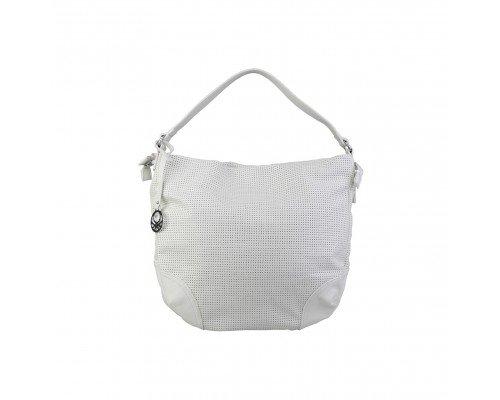 Дамска чанта  Benetton бяла с една дръжка