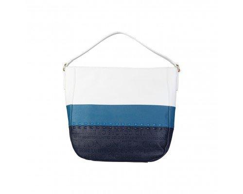 Дамска чанта Benetton в три цвята една дръжка