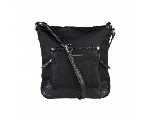 Дамска чанта Benetton за рамо модел Black