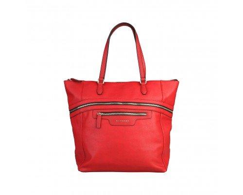 Дамска чанта Benetton червена