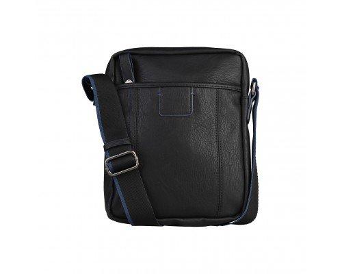 Мъжка чанта Benetton черно и синьо