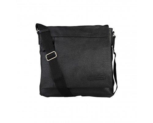 Мъжка чанта Benetton черна за рамо