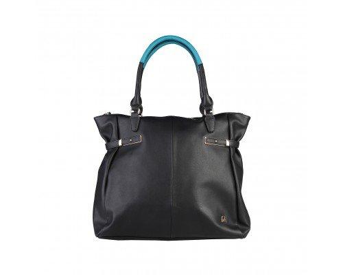 Дамска чанта Benetton черна модел Jazz