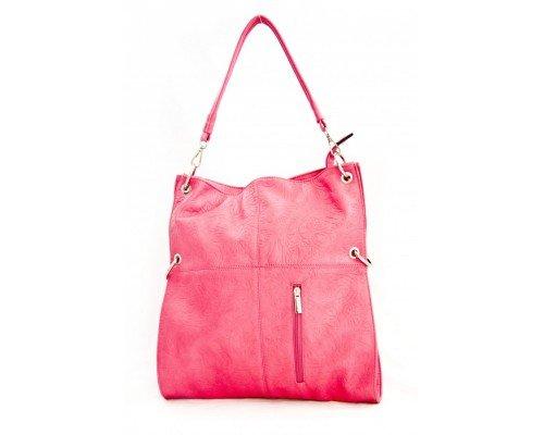 Дамска чанта с две форми розова