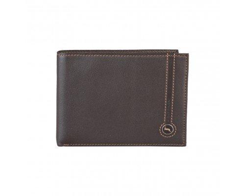 Мъжки портфейл Gattinoni тъмно кафяв