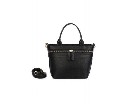 Дамска чанта Ines Delaure черна
