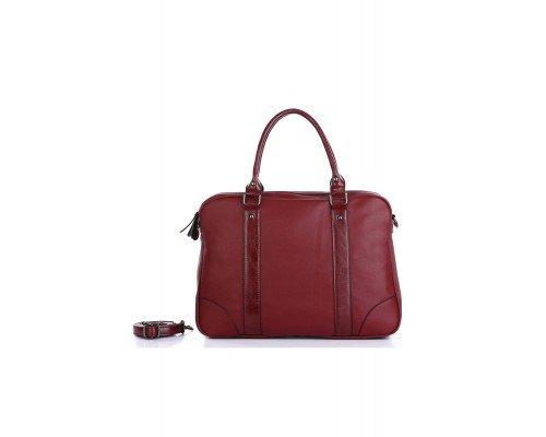 Дамска чанта Ines Delaure бордо
