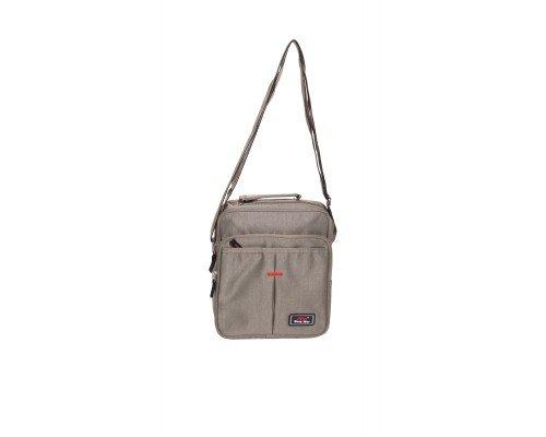 Мъжка чанта JCL тъмно бежова