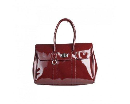 Дамска чанта Made in Italia модел Nuoro bordeaux