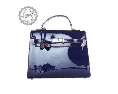 Дамска чанта Made in Italia модел Torino blu cobalto