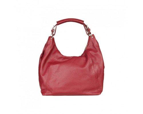 Дамска чанта Made in Italia модел Capri bordeaux