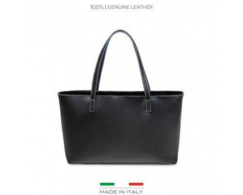 Дамска чанта Made in Italia черна