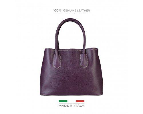 Дамска чанта Made in Italia лилава
