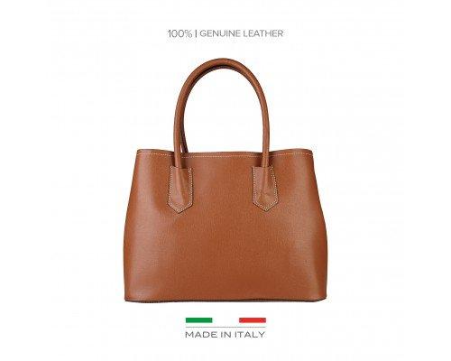 Дамска чанта Made in Italia кафява