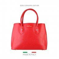 Дамска чанта Made in Italia червена