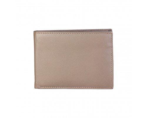 Мъжки портфейл Made in Italia естествена кожа светло кафяв