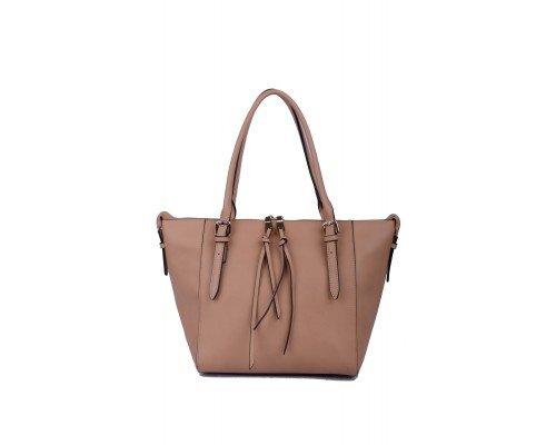 Дамска чанта бежова Max & Enjoy