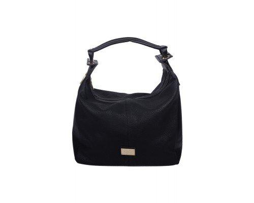 Дамска чанта Max & Enjoy черна с една дръжка