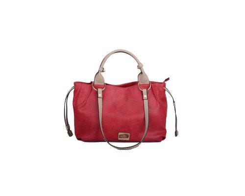 Дамска чанта Max & Enjoy червена