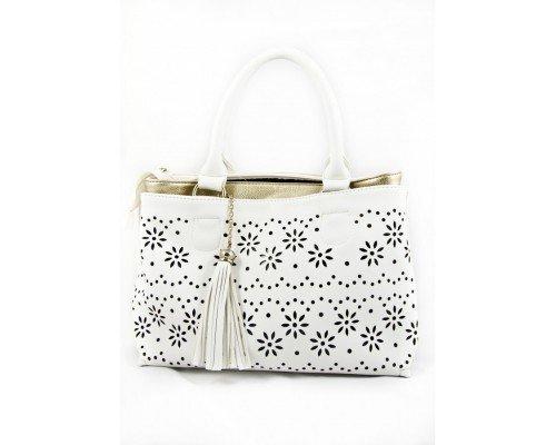 Дамска чанта Pierre Cardin бяла