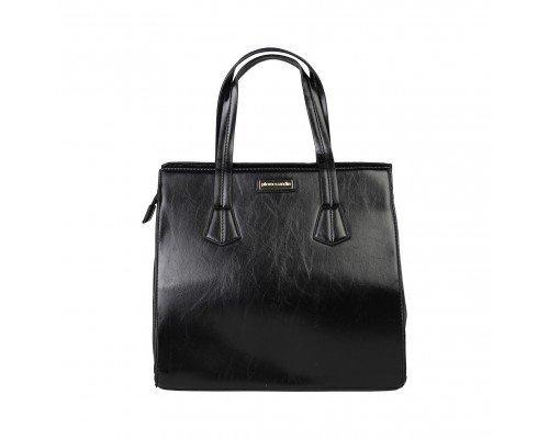 Дамска чанта Pierre Cardin черна с две дръжки