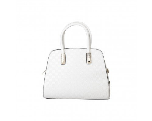 Дамска чанта Pierre Cardin бяла с две дръжки