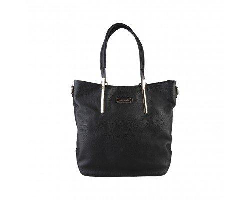Дамска чанта Pierre Cardin с две дръжки черна