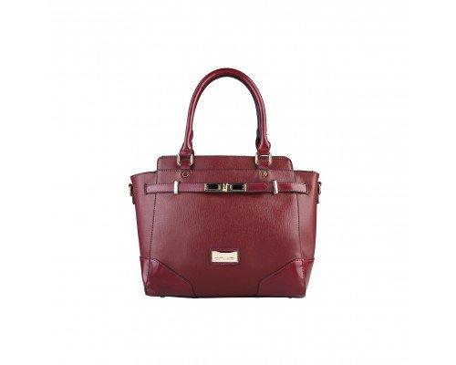 Дамска чанта Pierre Cardin бордо