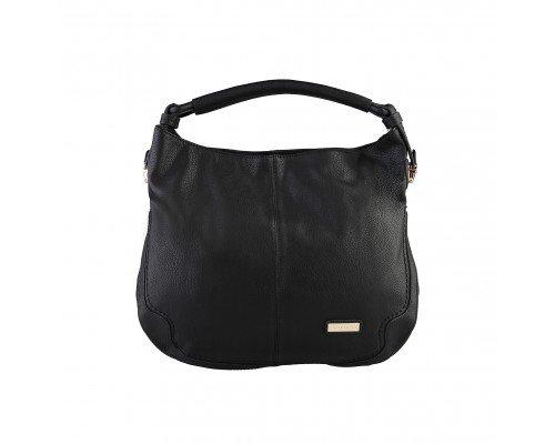 Дамска чанта Pierre Cardin черна с една дръжка