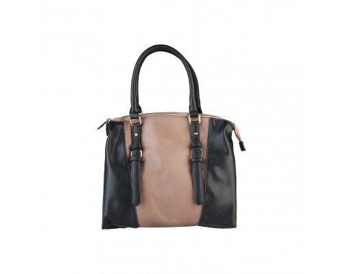 Дамска чанта Pierre Cardin черно и кафяво