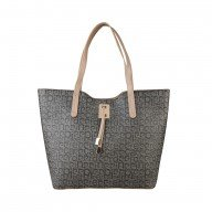 Pierre Cardin Taupe-Beige shopping bag