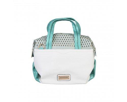 Дамска чанта Pierre Cardin с две дръжки бяла