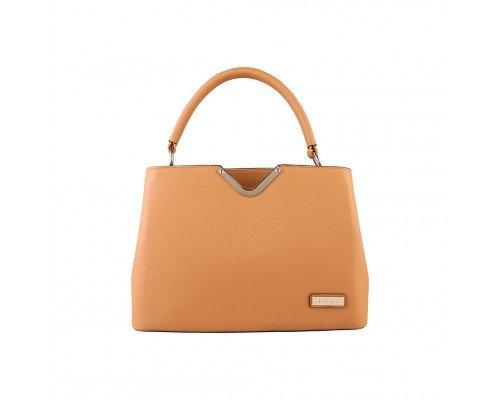 Дамска чанта Pierre Cardin кафява модел Louis