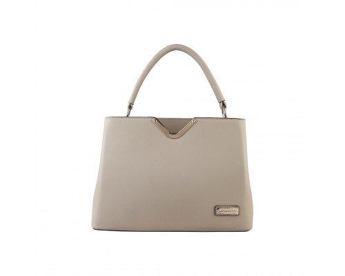 Дамска чанта Pierre Cardin сива модел Louis