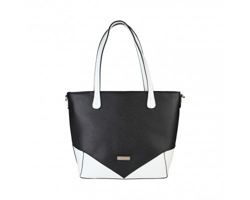 Дамска чанта Pierre Cardin черно и бяло