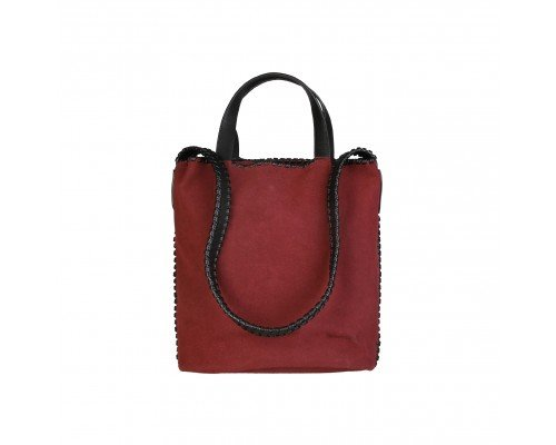 Дамска чанта Pierre Cardin две в едно бордо