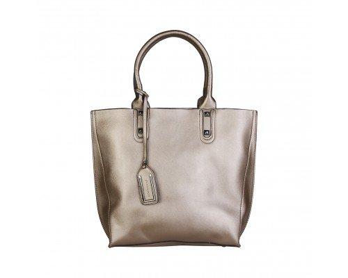 Дамска чанта Pierre Cardin бронзова