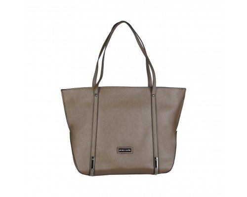 Дамска чанта Pierre Cardin тъмно кафява модел Marrone