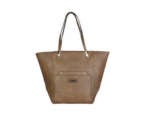 Дамска чанта Pierre Cardin кафява модел Camel