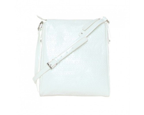 Дамска чанта Roccobarocco за рамо модел BIANCO