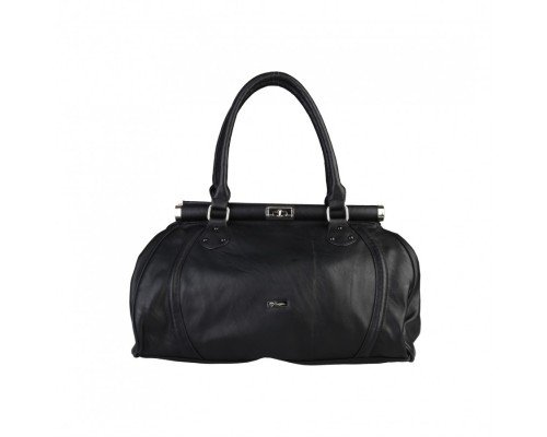 Дамска чанта Segue с две дръжки черна