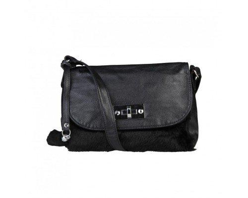 Дамска чанта Segue черна модел Frio