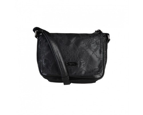 Дамска чанта за рамо Segue черна модел Bebe