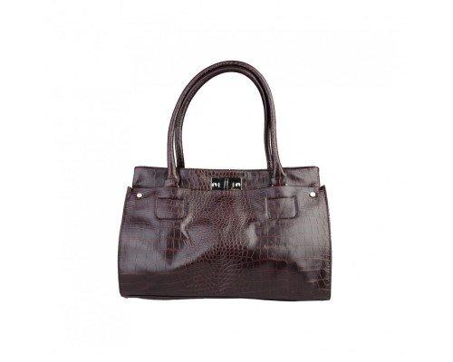 Дамска чанта Segue тъмно кафява