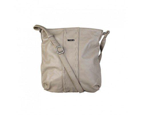 Дамска чанта Segue модел Cuir цвят бежов