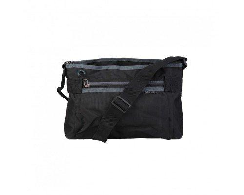 Мъжка чанта Segue модел Stream черна