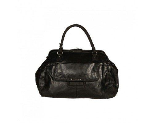 Дамска чанта Sisley черна