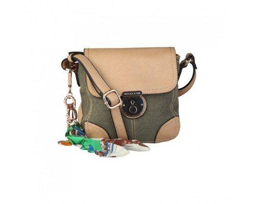 Дамска чанта Sisley с аксесоар
