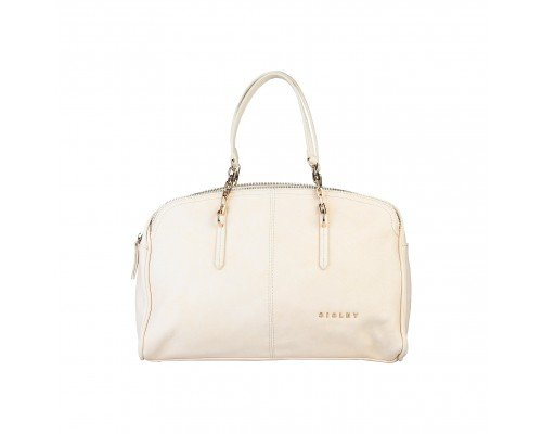 Дамска чанта Sisley светло бежова
