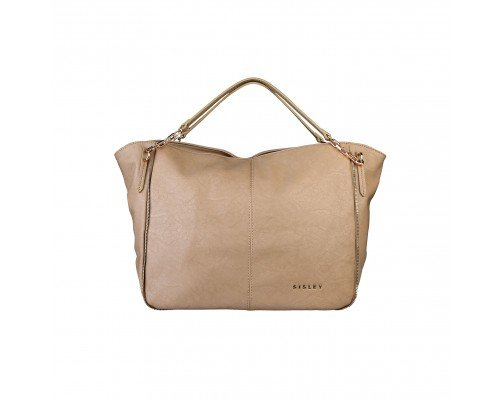 Дамска чанта Sisley светло кафява